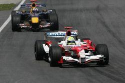 Ralf Schumacher voor David Coulthard