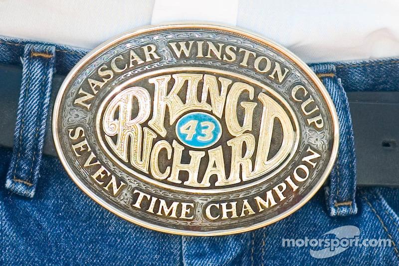 Boucle de ceinture de Richard Petty