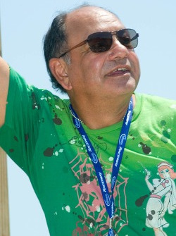 Film star Cheech Marin, Grand Marshal of the Dodge/Save Mart 350