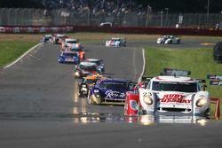 #23 Alex Job Racing/ Emory Motorsports Porsche Crawford: Mike Rockenfeller, Patrick Long mène la zon