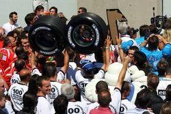 Michelin gagne son 100e Grand Prix