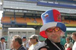 Un fan tchèque