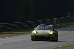 #91 T2M Motorsport Porsche GT3 RSR: Miro Konopka, Yutaka Yamagishi, Jean-René de Fournoux