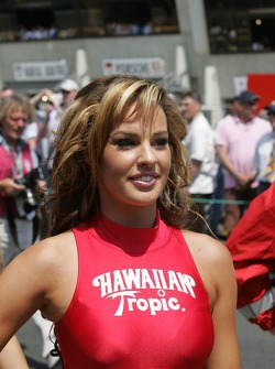 Une jeune Hawaïenne