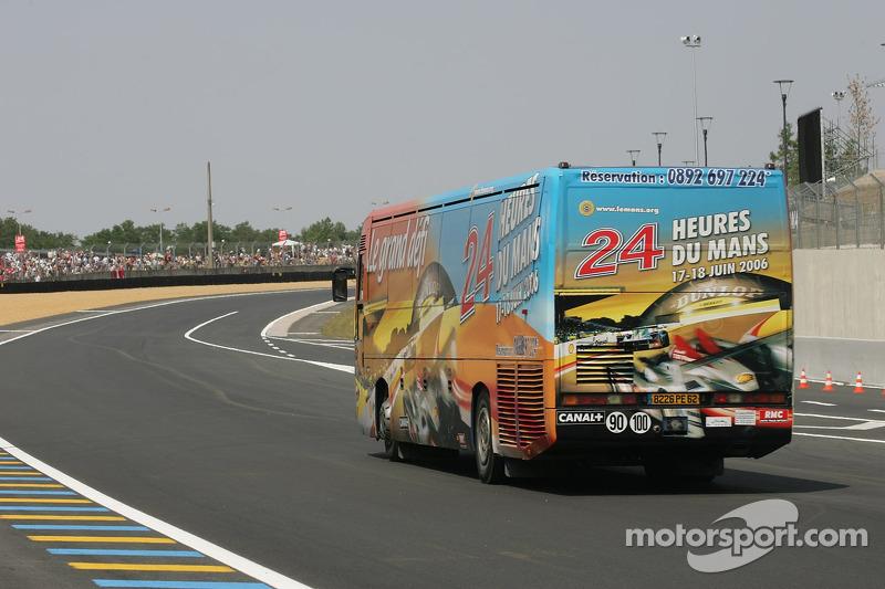 Le bus des 24 Heures du Mans