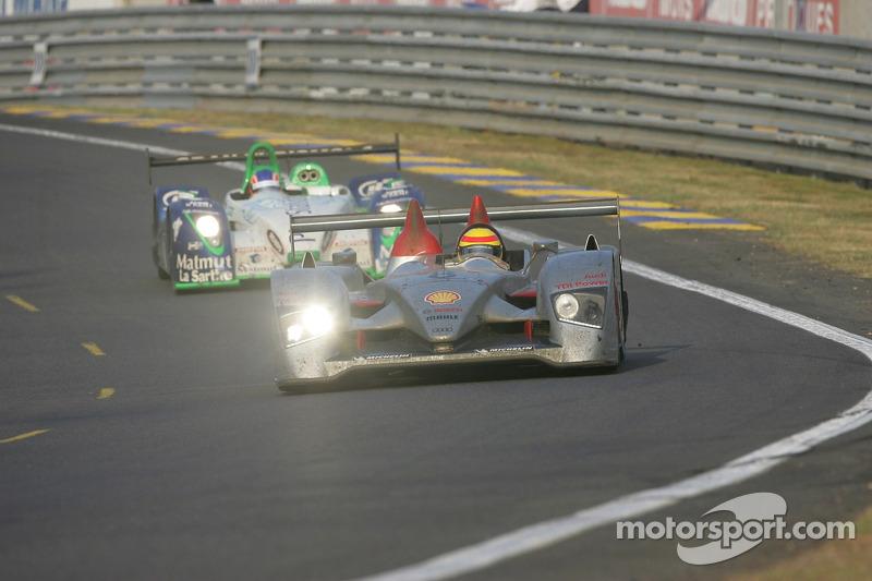 #8 Audi Sport Team Joest Audi R10: Marco Werner, Frank Biela, Emmanuele Pirro