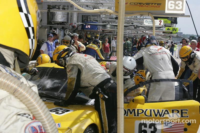 #63 Changement final de pilote pour la Corvette Racing Corvette C6R
