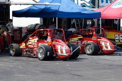 Walker-Guiducci Racing Beasts, conduites par Dave Steele et Dave Darlet