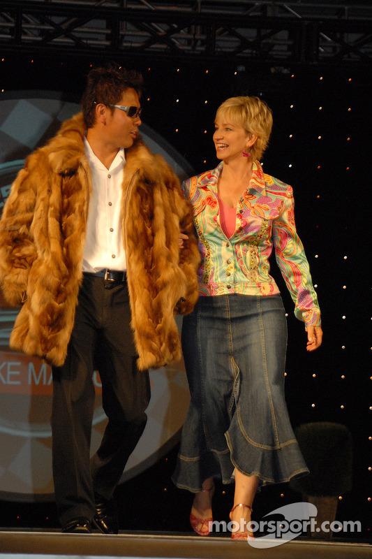 Kosuke Matsuura et Cheryl Day Anderson
