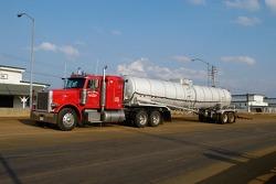 C'est le plus gros camion d'eau que j'ai jamais vu