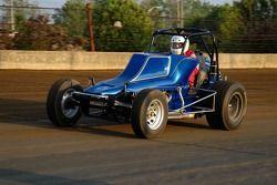 Classic open wheel car