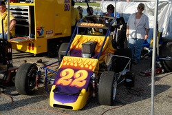 Ron Gregory's car is ready