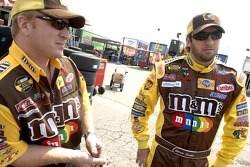 Elliott Sadler and Tommy Baldwin