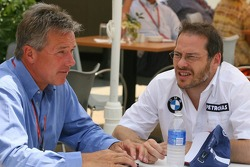 Craig Pollock with Jacques Villeneuve