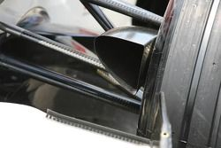 Conducto de freno de Honda RA106