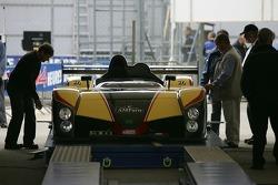 La Peugeot WR de Welter Gérard lors des vérifications techniques