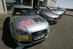 Audi RS4 safety cars