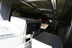 Audi Sport Team Joest garage area