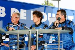 Lars-Erik Nielsen, Dominik Farnbacher et Pierre Ehret