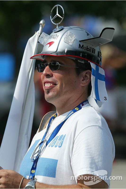 Un fan de Kimi Räikkönen