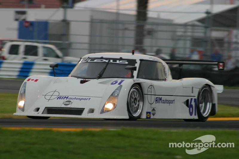 #61 AIM Autosport Lexus Riley: Mark Wilkins, James Hinchcliffe
