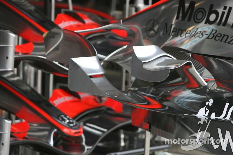 Carrosserie de la McLaren Mercedes