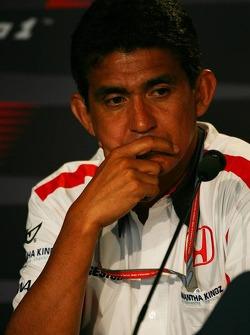 Friday FIA press conference: Aguri Suzuki