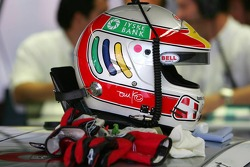 Helmet of Tom Kristensen