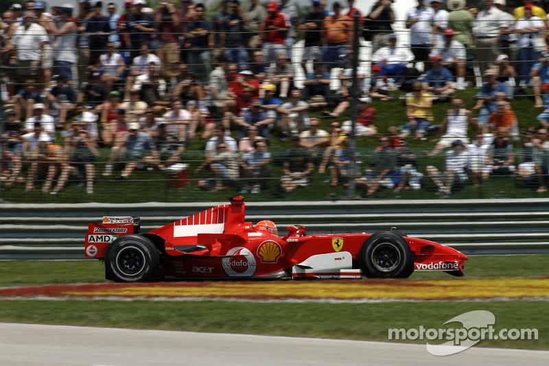 #67 GP des États-Unis 2006 (Ferrari 248 F1)