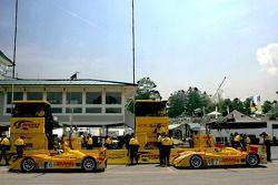 Penske Motorsports pit area