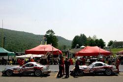 Multimatic Motorsports Team Panoz pit area