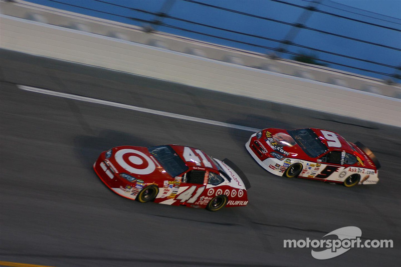 Reed Sorenson and Kasey Kahne