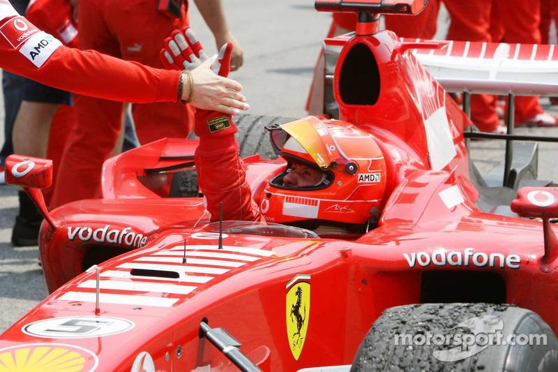 2006: Michael Schumacher (Ferrari 248 F1)