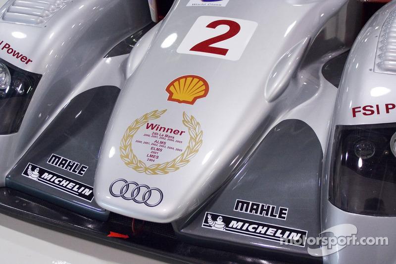 Studio de tournage de l'Audi R8 pour la course d'adieu à Lime Rock