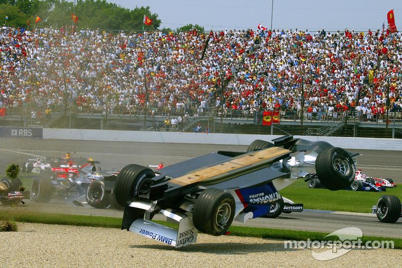 ... Juan Pablo Montoya im McLaren.