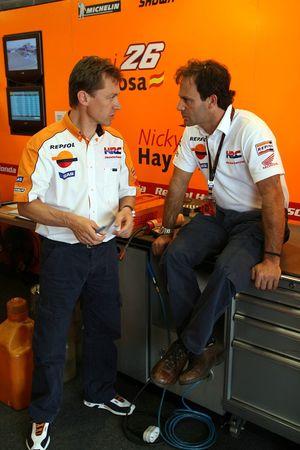 Mike Leitner et Alberto Puig