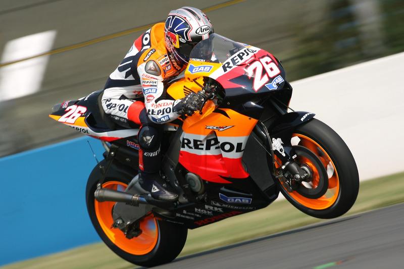2006: Dani Pedrosa - GP da Espanha - 2º lugar