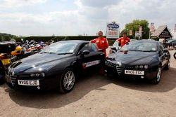 Evénement promo de l'Alfa Romeo