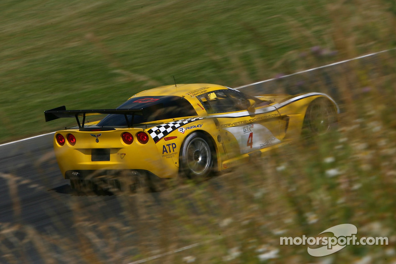 #4 GLPK Racing Corvette C6R: Bert Longin, Anthony Kumpen, Mike Hezemans