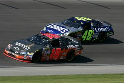 J.J.Yeley and Jimmie Johnson