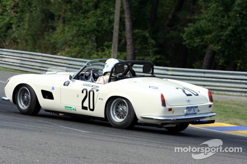 20 Ferrari 250 Gt California 1960 At Le Mans Classic