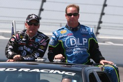 Clint Bowyer and Tony Raines