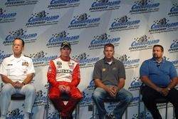 Navy/Earnhardt Jr. Press Conference