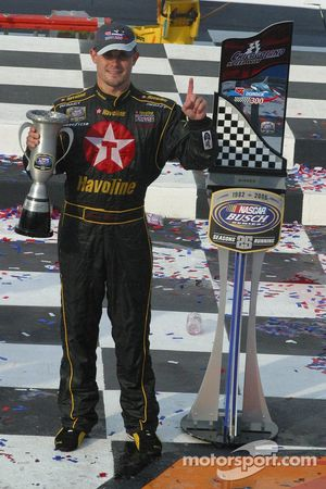 Casey Mears in Victory Lane