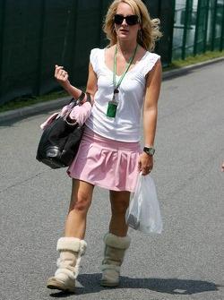 Liselore Kooijman, girlfriend of Christijan Albers