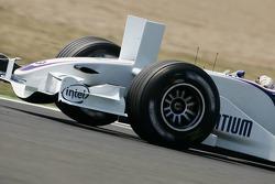 Frontflügel mit vertikalen Zusatzflügeln, BMW Sauber