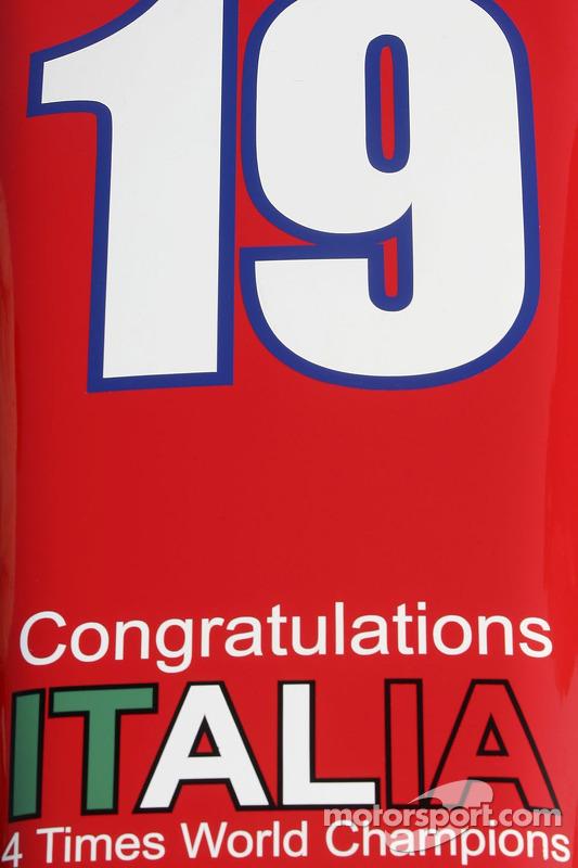 BCN Competicion fête la quatrième victoire de la Coupe du monde de l'Italie