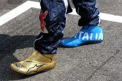 Les chaussures de course de Vitantonio Liuzzi