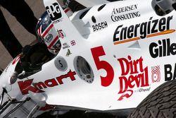 Найджел Мэнселл за рулем Carl Haas Lola Indycar 1993 года