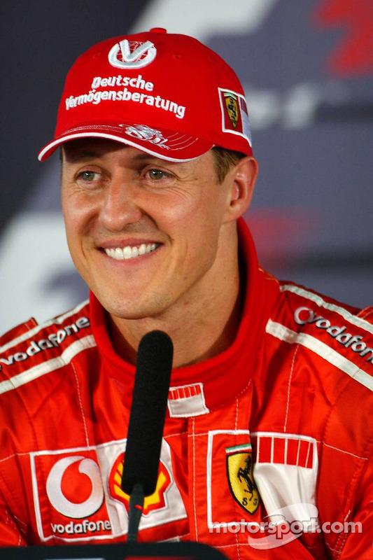 Conferencia de prensa: ganador de la pole Michael Schumacher